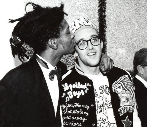 Keith Haring, Jean Michel Basquiat