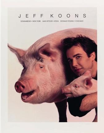 Pigs (Jeff Koons) - Courtesy of the NGC - copie