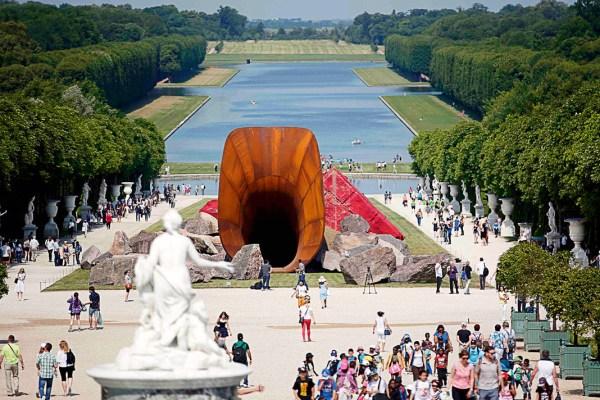 Versailles et l'art contemporian, Anish Kapoor - copie