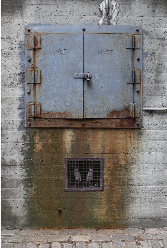 Van Wyck Expressway, Queens, NY 2010, Dan Witz