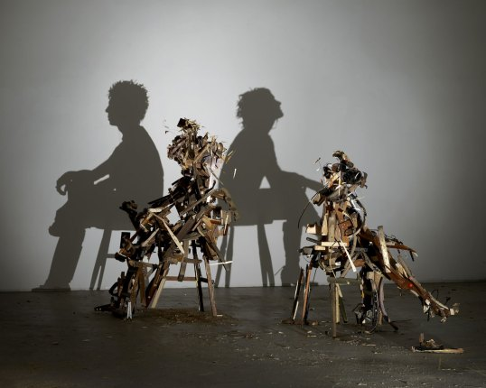 Tim Noble and Sue Webster, recycled art