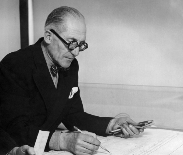 Le Corbusier in 1961 Credit : AFP Photo / STF