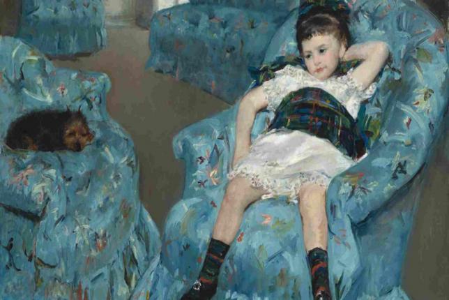 Mary Cassat little girl