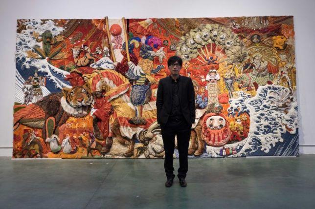 Portrait of Xu Zhen, Adrien Bernard