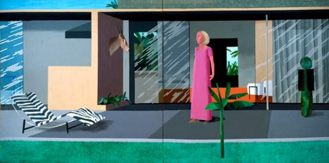 David Hockney, Beverly Hills Housewife