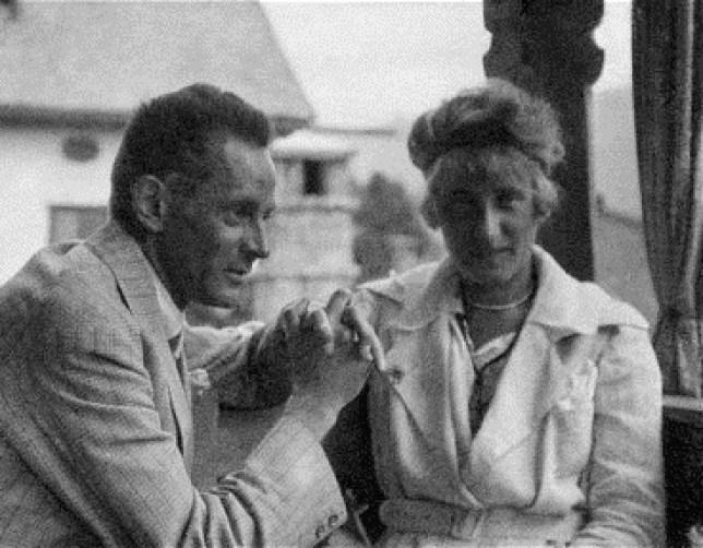 Egon Schiele et sa femme, Edith Harms 1918