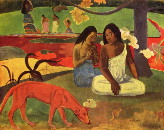 Paul gauguin chien