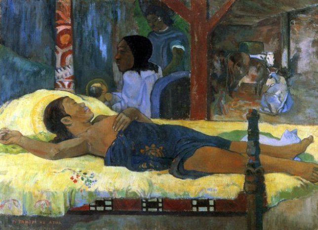 Paul Gauguin lit