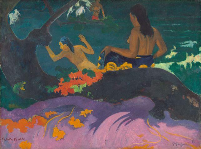 Paul Gauguin tahiti mer
