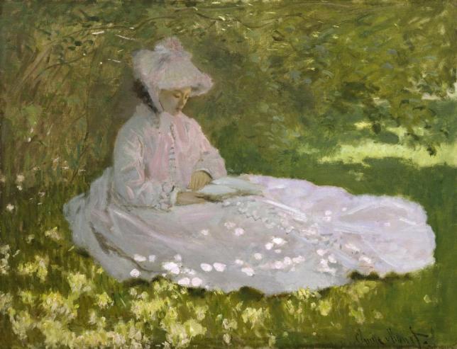 Claude Monet, la Liseuse