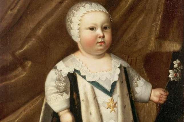 portrait enfant louis XIV