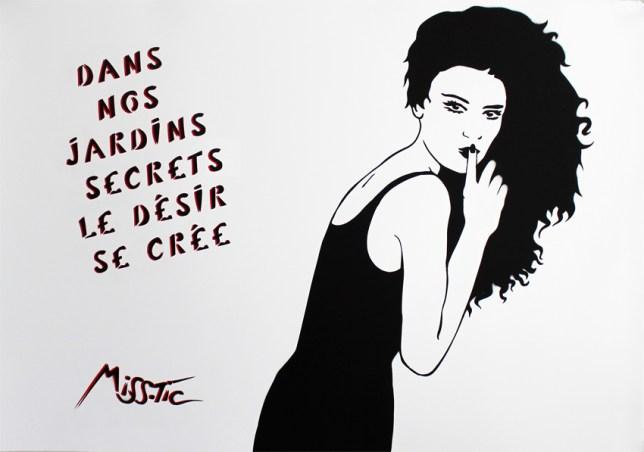 Miss Tic - Dans nos jardins secrets le désir se crée (2015)