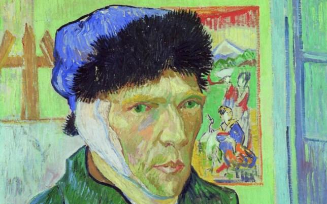 van gogh painting autoportrait 1889