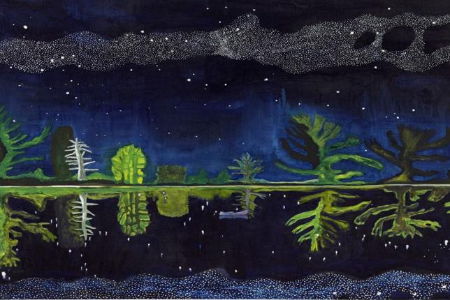 Peter Doig milky way night
