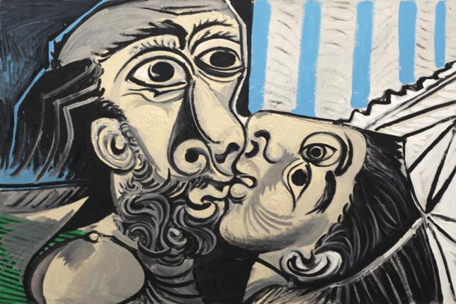 Le baiser Pablo Picasso surréalisme