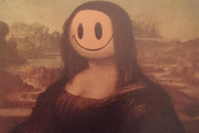 Banksy, fausse Joconde
