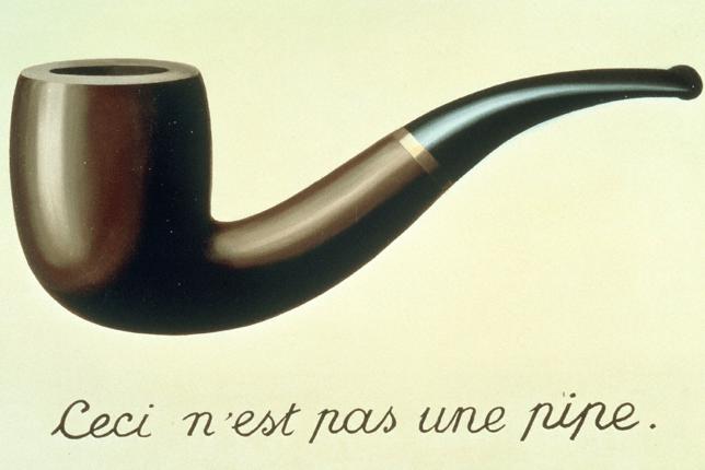 Magritte trahison des images