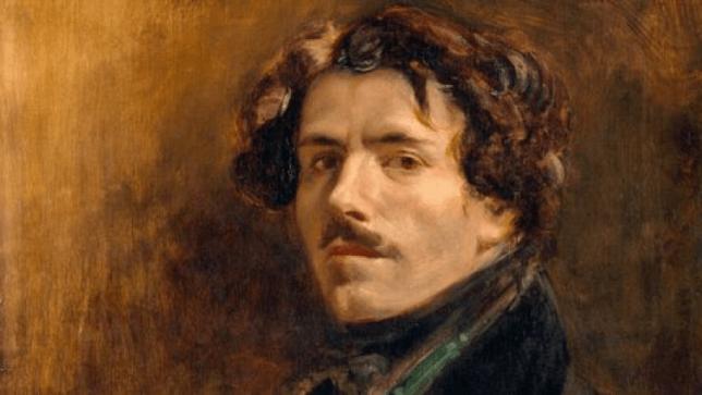 Autoportrait Eugene Delacroix