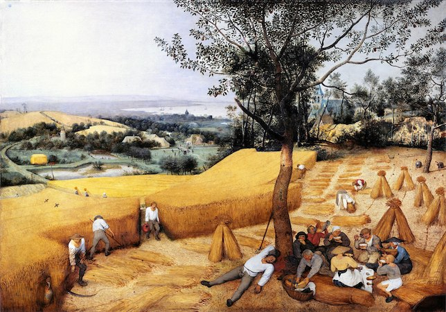 Summer in art pieter bruegel the elder summer painting