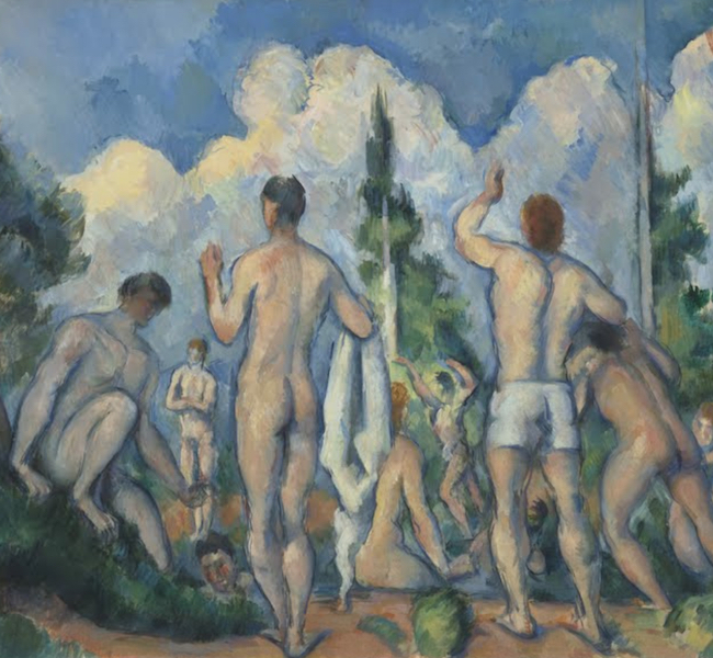 the seasons in art summer in art paul cezanne the bathers summer in art
