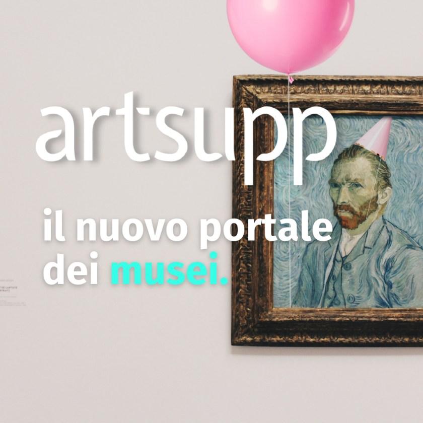 Artsupp il nuovo portale dei musei