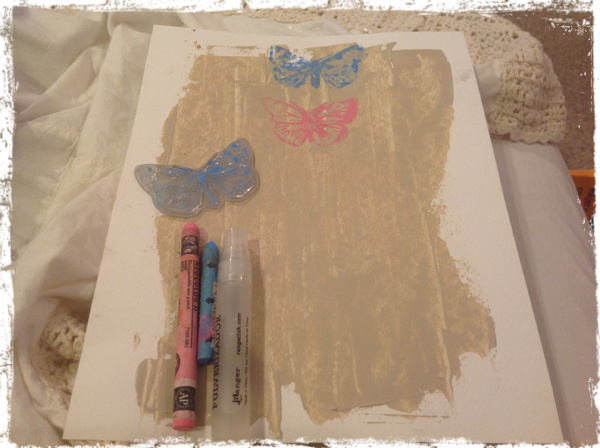 Butterfly Wallhanging 3