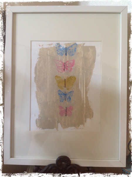 Butterfly Wallhanging 7