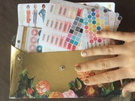 The Reset Girl Stickers in my lovely Sticker Envelope