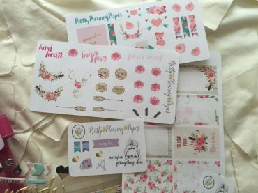 More Beautiful Heidi Swapp Planner Stickers