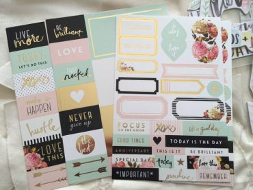 Beauties - Heidi Swapp Planner Stickers