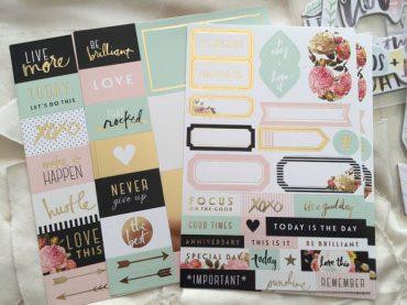 Beauties - Heidi Swapp Planner Stickers