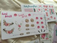More Pretty Pleasing Paper Planner Stickers