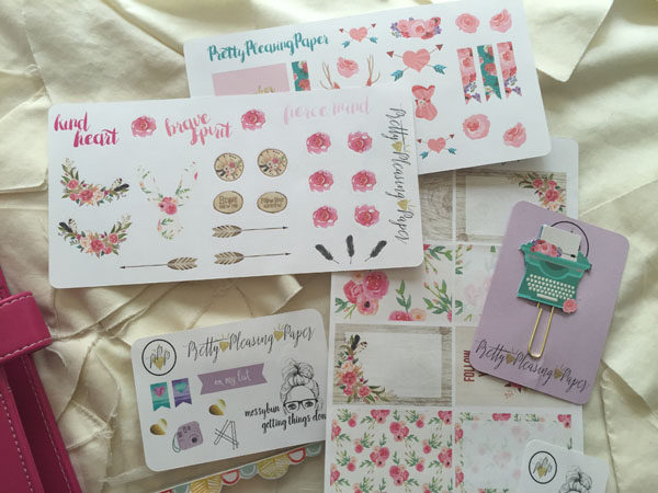 Lovely Planner Stickers Found