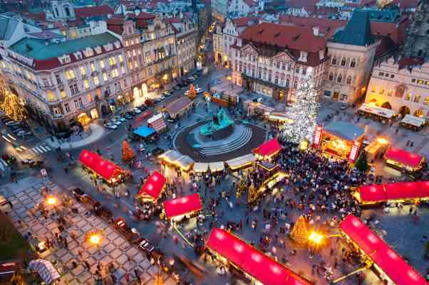 Christmas Market Prague Czech Republic - Christmas Vacation in Europe