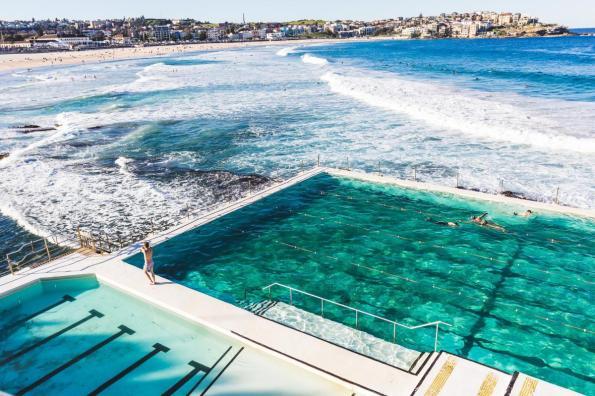 Bondi Beach ocean pool, Sydney, Australia