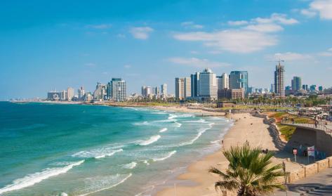 Gordon Beach, Tel Aviv, Israel