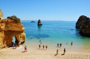 Praia do Camilo Beach, Lagos, Portugal - 10 Best Beaches Around the World - ASAP Tickets Travel Blog