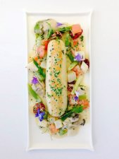 Scallop and oyster boudin