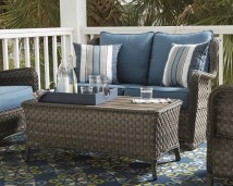 in outdoor living space