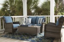 Enliven Outdoor Spaces With Rugs And Pillows - Ashley