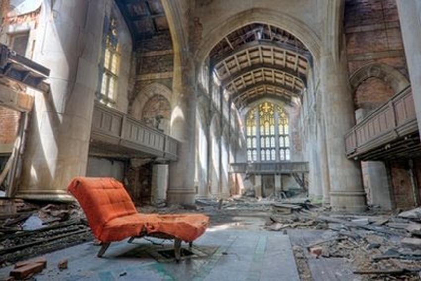 Beautiful Decay Art Of Abandoned Buildings Asiel