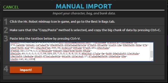 ImportPasteText