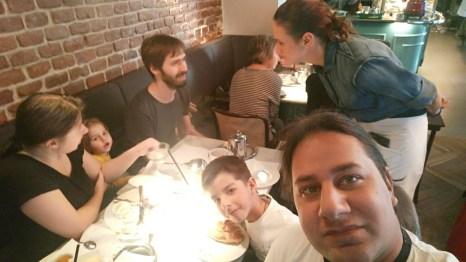 Я, Веня, Слава, Каролина, Марк и Паша