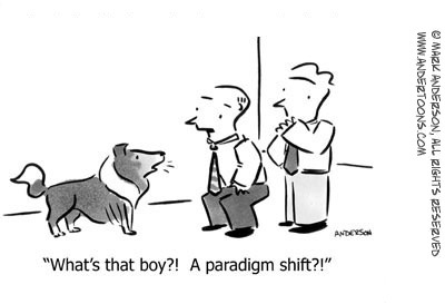 Paradigm Shift Cartoon