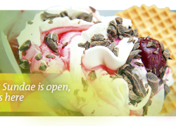 Sargent Sundae is open, spring is here