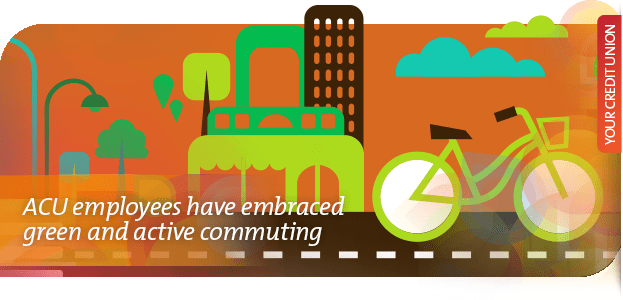 ACU employees have embraced green and active commuting