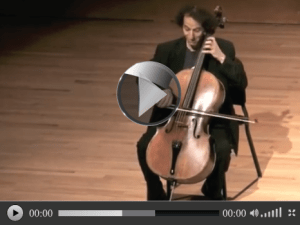 Cello player video