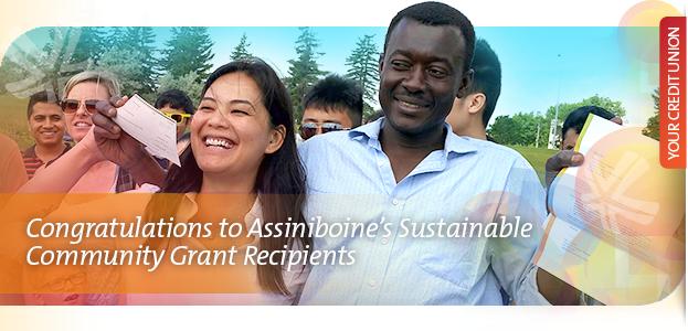Congratulations to Assiniboine's Sustainable Community Grants Recipients