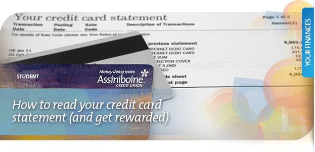 How to read your credit card statement (and get rewarded)