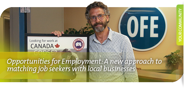 Opportunities for Employment: A new approach to matching job seekers with local businesses